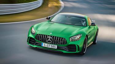 Mercedes-AMG GT R - front cornering