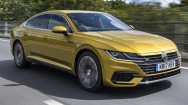 Volkswagen Arteon review - gold front
