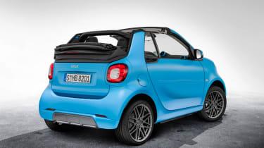 Smart ForTwo Cabrio Brabus rear