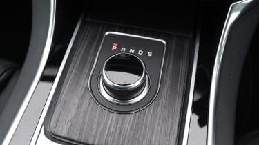Jaguar XF 2017 - gear selector