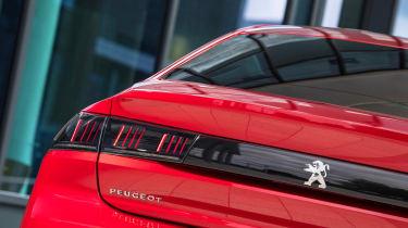 New Peugeot 508 GT 1.6 turbo brake lights