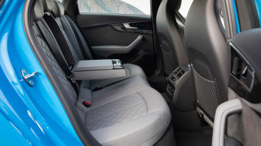 2019 Audi S4 saloon rear seats