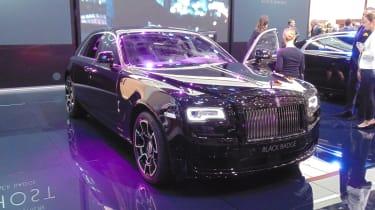 Rolls Royce Wraith Black Edition Geneva
