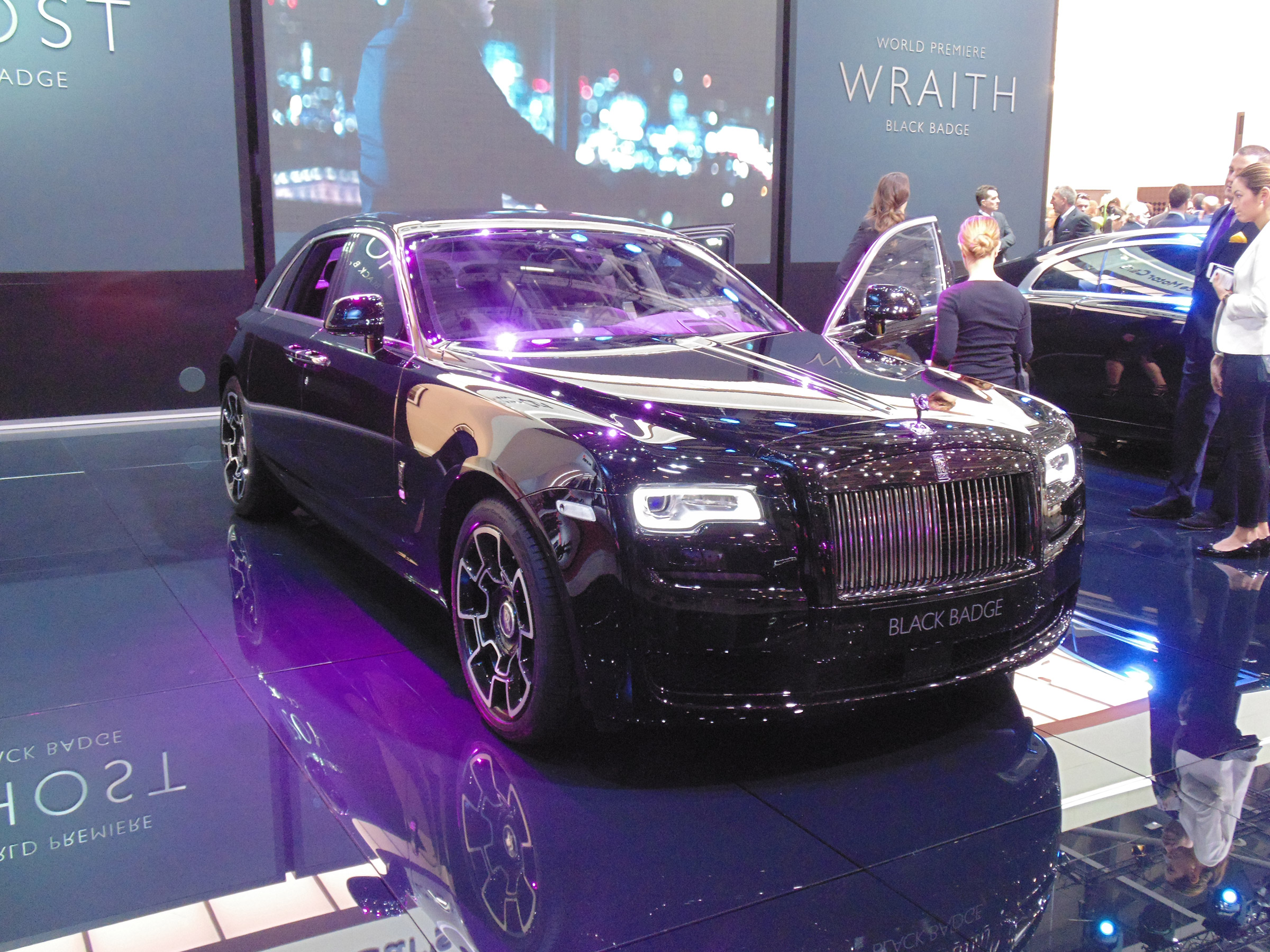 Rolls Royce Wraith And Ghost Black Badge Editions Launch In Geneva Auto Express