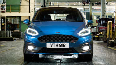 Ford Fiesta ST 2017 - front