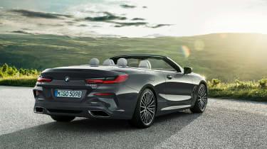 BMW 8 Series Convertible - rear static