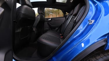 Ford Puma - rear seats