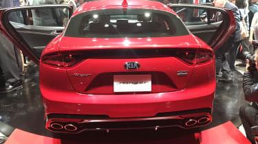 Kia Stinger GT - reveal rear