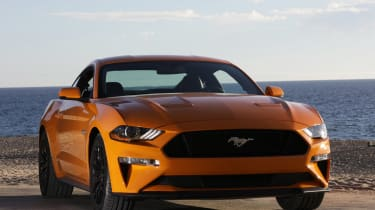 Ford Mustang - front twilight
