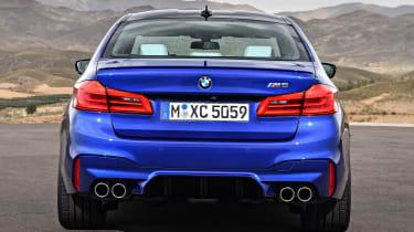 BMW M5 - full rear static