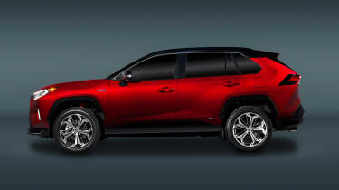 Toyota RAV4 Prime - side static