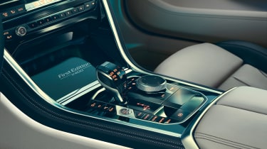 BMW 8 Series Coupe First Edition - gearstick