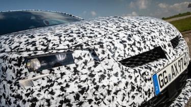 Vauxhall Corsa prototype - grille