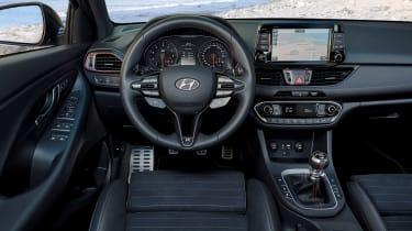 Hyundai i30 N Fastback - dash
