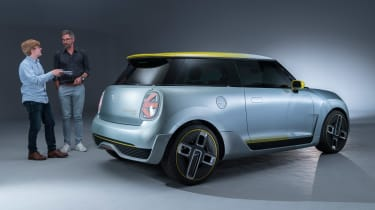 MINI Electric concept - rear / James Brodie