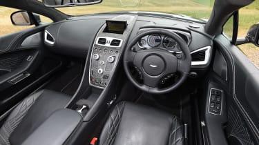 Aston Martin Vanquish S Volante - interior