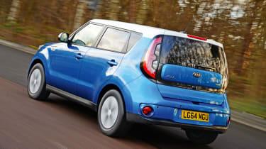 Kia Soul EV - rear tracking