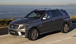 Mercedes ML63 AMG front tracking