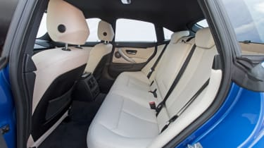 BMW 4 Series Gran Coupe 2014 rear seats