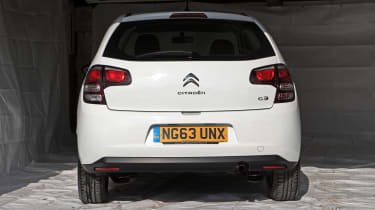 Used Citroen C3 - full rear
