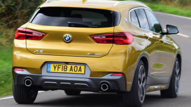 bmw x2 tracking rear