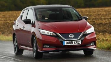 Nissan Leaf - front action