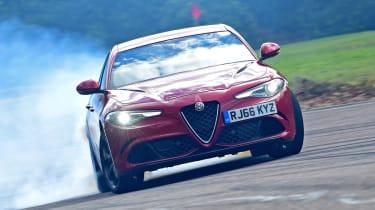 Alfa Romeo Giulia Quadrifoglio - drift
