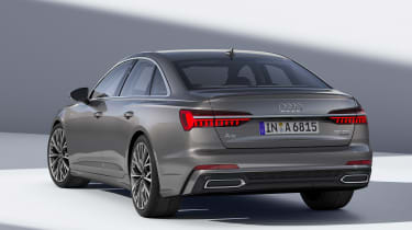 New Audi A6 - studio rear