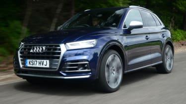 Audi SQ5 - front action