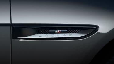 Jaguar XF Chequered Flag - side detail