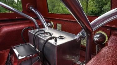 Jeep's wildest concepts driven - Quicksand rear interior