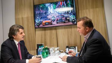 Jaguar Land Rover - LA Motor Show - office