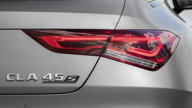 Mercedes-AMG CLA 45 Shooting Brake rear light