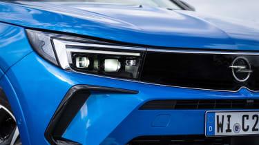 Vauxhall Grandland PHEV - front lights