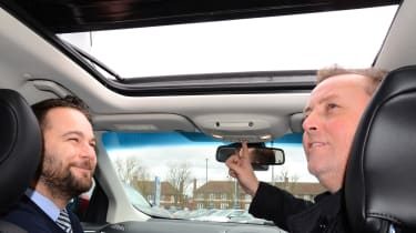 Long-term test review: Ford Edge - first report sunroof