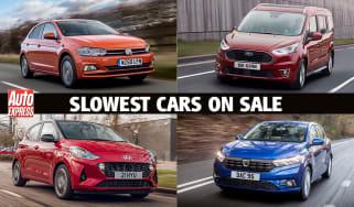 Slowest cars on sale