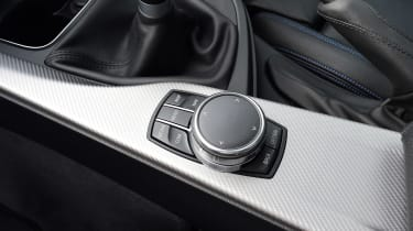 BMW 420d M Sport - infotainment controls