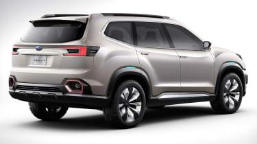Subaru VIZIV-7 SUV Concept - rear