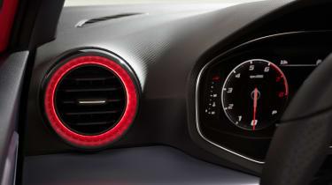 SEAT Ibiza facelift - vent