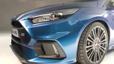 Ford Focus RS grille