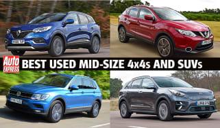 Best used mid-size SUVs header