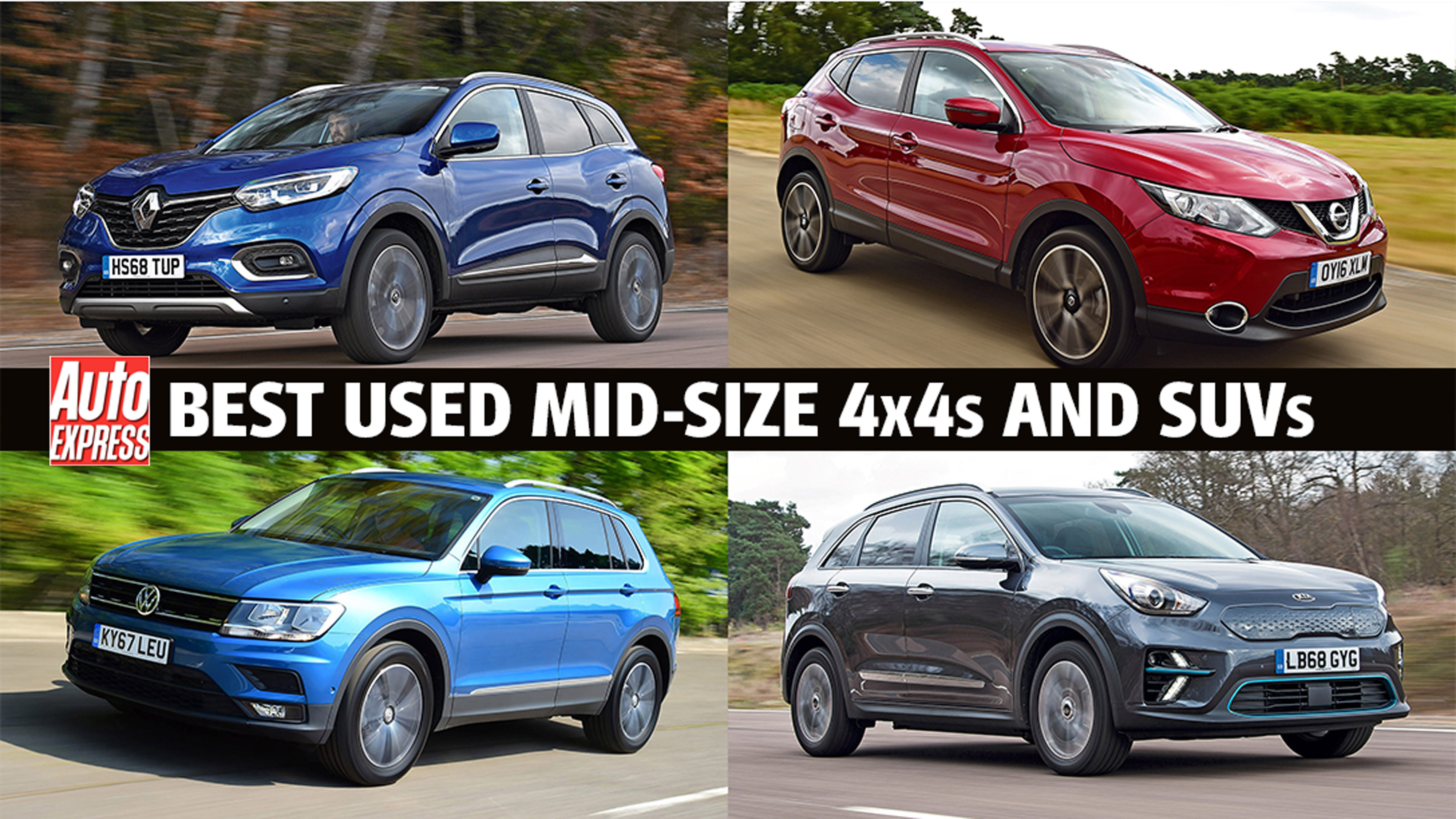 Best Used Mid Size 4x4s And Suvs Auto Express