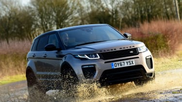 Range Rover Evoque SD4 - off-road