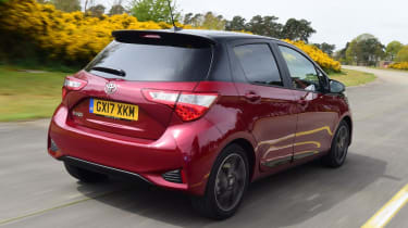 Used Toyota Yaris - rear action