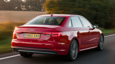 Audi A4 S Line - rear tracking