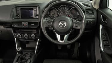 Mazda CX-5 used - dash