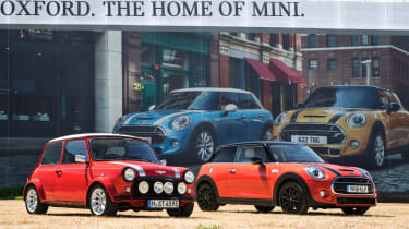 Mini Classic electric - side by side
