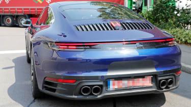 Next generation Porsche 911 exhausts quad