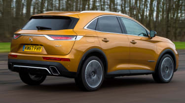 DS 7 Crossback rear tracking