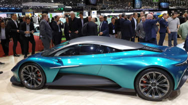 Aston Martin Vanquish Vision concept - Geneva side